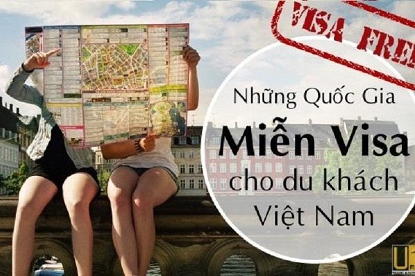Danh sách những quốc gia, vùng lãnh thổ công dân Việt Nam du lịch không cần Visa